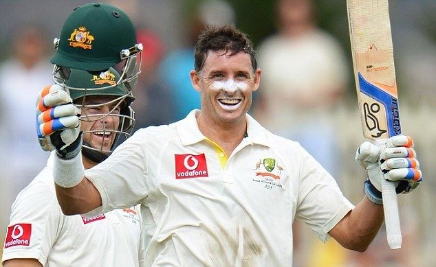 Michael Hussey (Cricketer) playing cricket