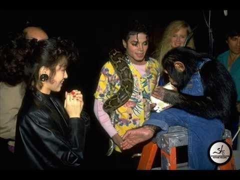 Michael Jackson and Bubbles MICHAEL JACKSON AND BUBBLES RARE PHOTOS YouTube