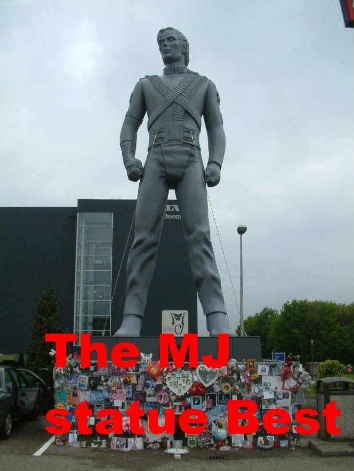 Michael Jackson HIStory statue History Statue of Michael Jackson YouTube