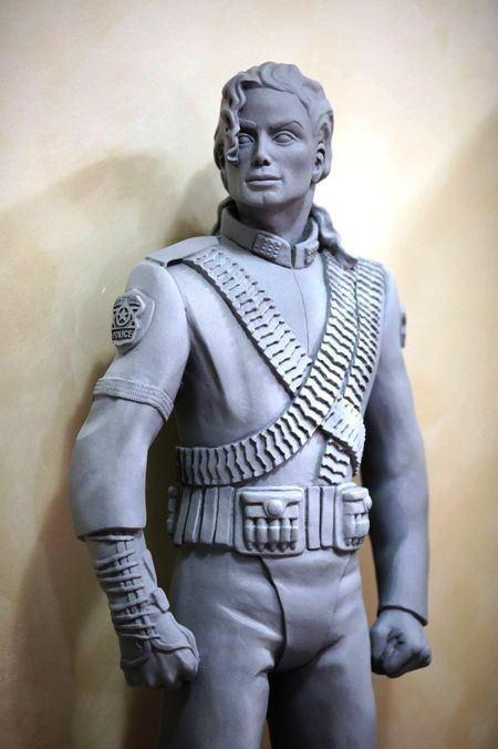 Michael Jackson HIStory statue MJ OFFICIAL LIMITED EDITION HIStory 130MT FIBERGLASS STATUE