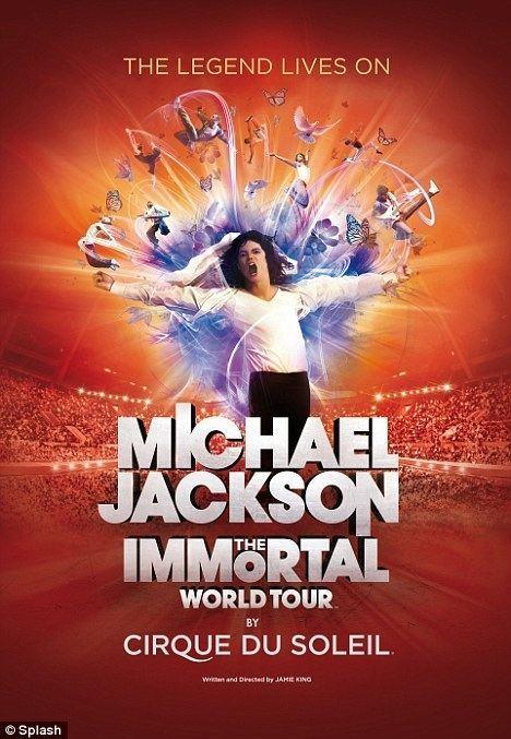 Michael Jackson: The Immortal World Tour Michael Jackson gets his own Cirque Du Soleil show 39The Immortal
