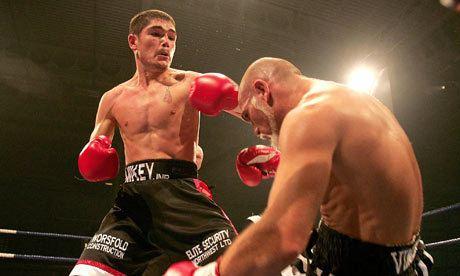 Michael Jennings (boxer) Boxing Michael Jennings brings grit but few fans to fight