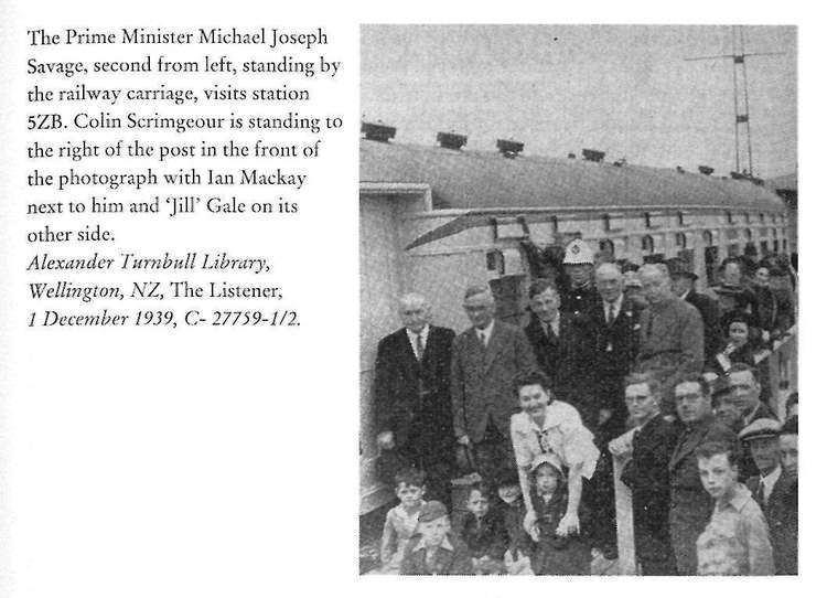Michael Joseph Savage Right Honorable Michael Joseph Savage NZETC