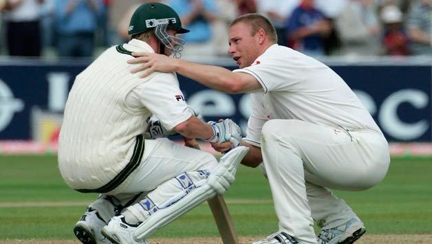 Ashes 2005 Brett LeeMichael Kasprowicz epic last wicket stand ends
