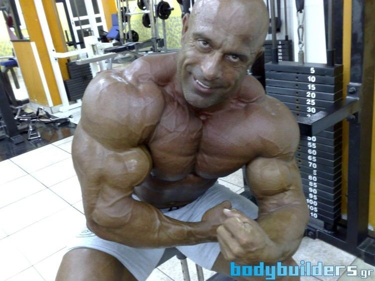 Michael Kefalianos Mike Kefalianos 1 Week From The 2011 Mr Olympia