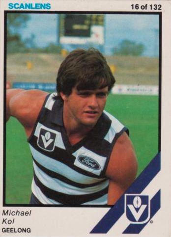 Michael Kol Australian Football Michael Kol Player Bio