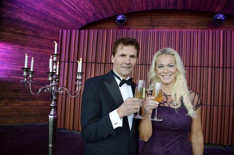 Michael Leijnegard Micke Leijnegard leder nyrsfirandet frn Skansen Har aldrig