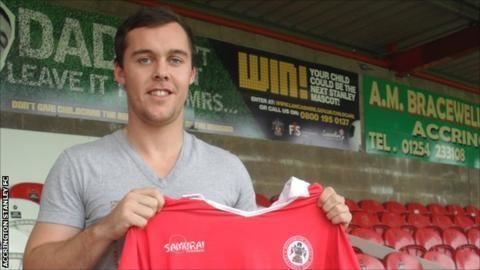 Michael Liddle Sunderlands Michael Liddle joins Accrington Stanley BBC Sport