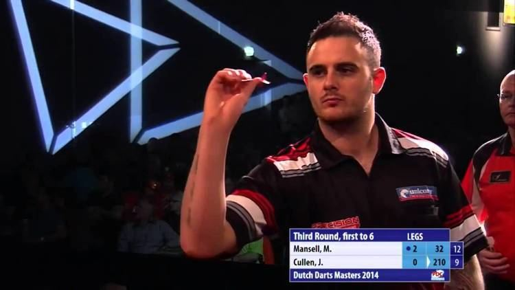 Michael Mansell (darts player) Dutch Darts Masters 2014 Third Round Michael Mansell v Joe Cullen