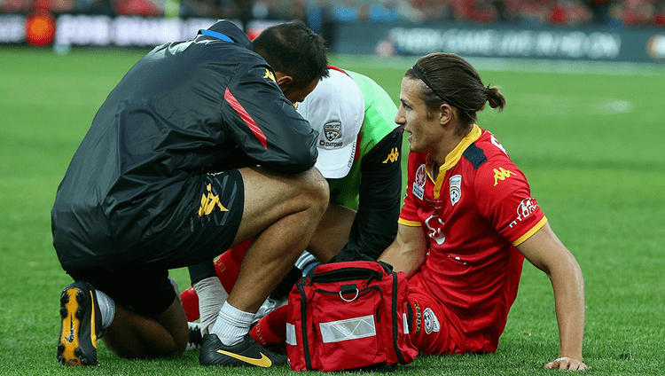Michael Marrone (footballer) Injury blow Adelaide Uniteds Michael Marrone suffers ruptures