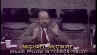 Michael MccGwire Michael MccGwire CSPANorg
