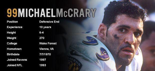 Michael McCrary Baltimore Ravens News Michael McCrary