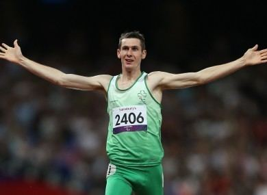 Michael McKillop Paralympics 2012 Golden boy McKillop triumphs in 1500m