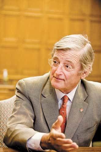 Michael Meighen Senator Michael Meighen Campaign McGill CoChair McGill Reporter