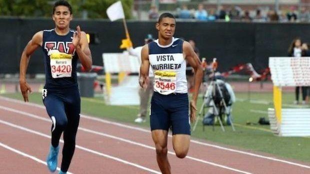 Michael Norman (sprinter) adidas Dream Watch List Boys 100 FloTrack
