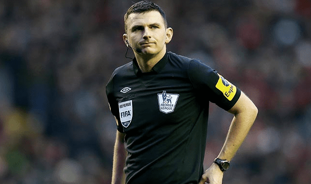 Michael Oliver (referee) Michael Oliver will referee the Merseyside Derby Everton