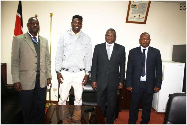 Michael Olunga Olunga the Footballing Engineer The Technical University of Kenya