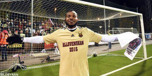 Michael Omoh Michael Omoh klar fr rebro SK stersunds FK Allsvenskan