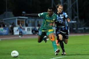 Michael Omoh Michael Omoh Pleased With Form For Ostersunds FK All Nigeria