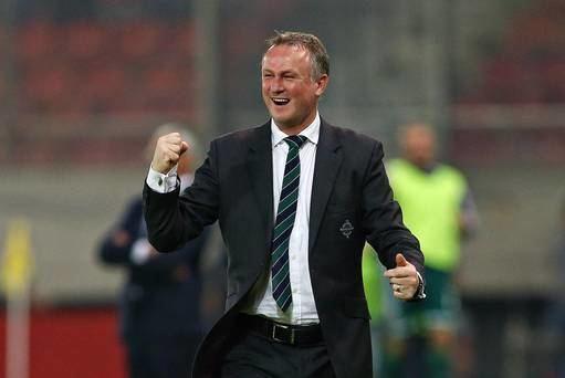Michael O'Neill (footballer) Northern Ireland fans deserve better from Uefa Michael O39Neill