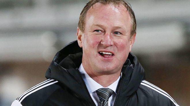 Michael O'Neill (footballer) Michael O39Neill Republic of Ireland boss Martin O39Neill guided me