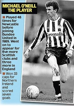 Michael O'Neill (footballer) Shamrock Rovers manager Michael O39Neill Daily Mail Online