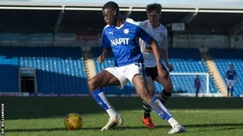 Michael Onovwigun Michael Onovwigun Chesterfield midfielder joins Gateshead on loan
