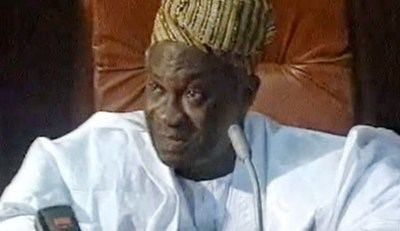 Michael Otedola Former Lagos State Governor Late Sir Michael Otedola laid to final