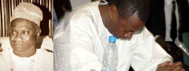 Michael Otedola Former Lagos Governor And Femi Otedolas Dad Michael Otedola Is
