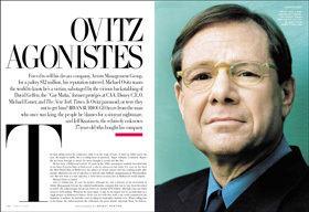 Michael Ovitz Ovitz Agonistes Vanity Fair