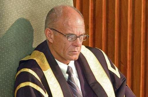 Michael Peart House praises retiring Speaker Michael Peart