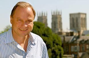 Michael Peschardt BBC journalist Michael Peschardt in York to film Peschardts People