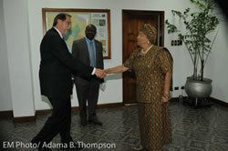 Michael R. Arietti Ambassador Michael R Arietti US Charg d Affaires Holds Talks