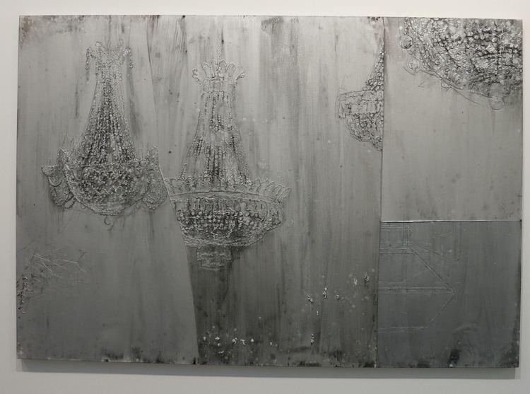 Michael Raedecker Michael Raedecker at Andrea Rosen Gallery New York Art Tours