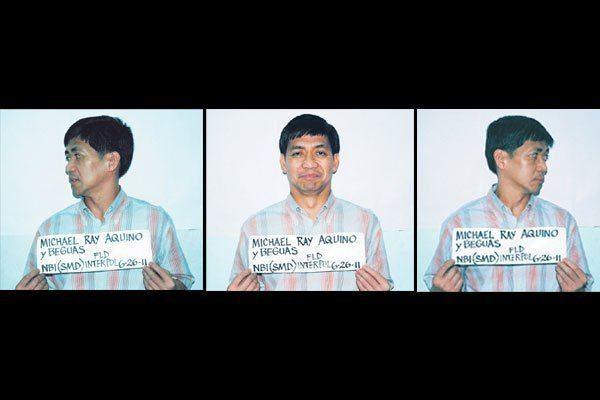 Michael Ray Aquino Michael Ray Aquino jailed in NBI Inquirer News