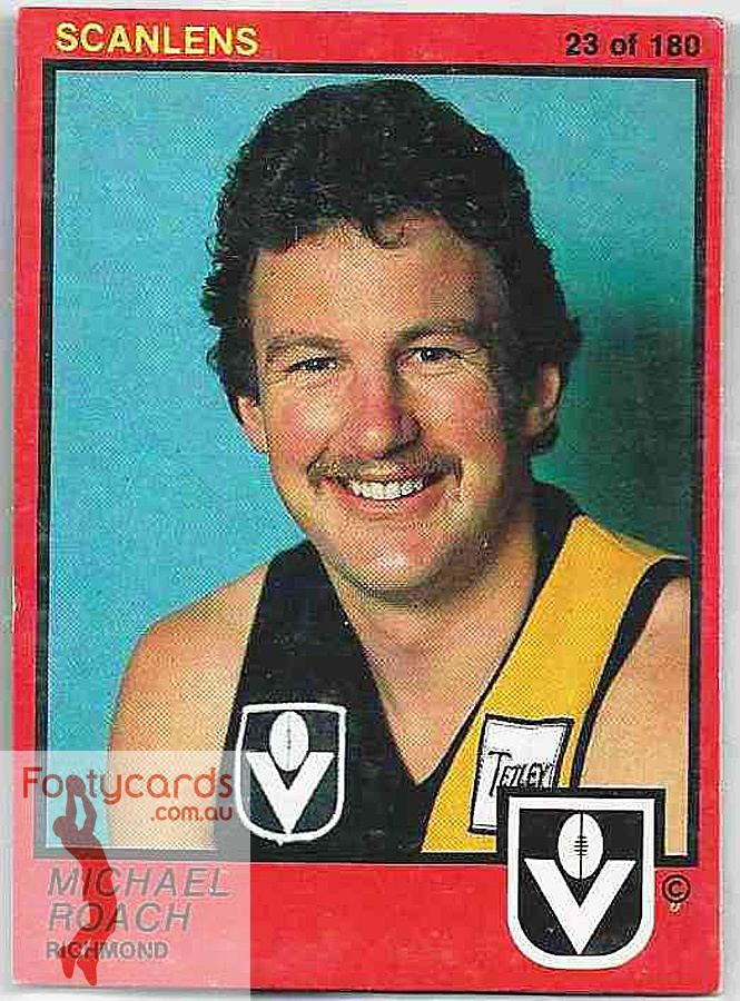 Michael Roach (footballer) wwwfootycardscomauimageswatermarked1detaile