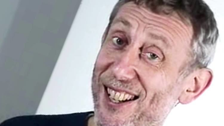 Michael Rosen Michael Rosen smacks his lips while the camera omniously