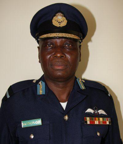 Michael Samson-Oje Air Vice Marshal Michael SamsonOje Chief Of Air Staff