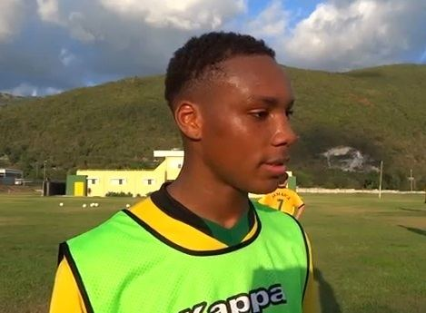 Michael Seaton (footballer) Jamaican 17yrold footballer player Michael Seaton to