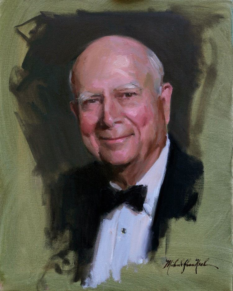 Michael Shane Neal Portrait of Gerald Schoenfeld by Michael Shane Neal The