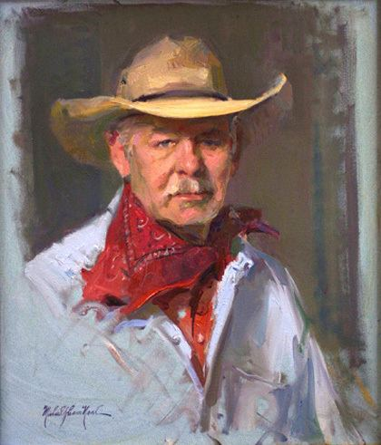 Michael Shane Neal Other Paintings by Michael Shane Neal The Studio of Portrait