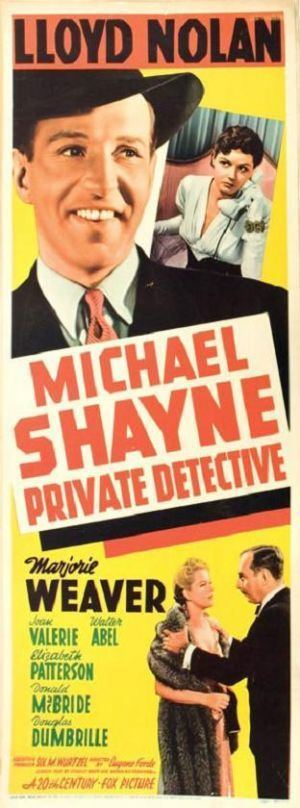 Michael Shayne, Private Detective Lauras Miscellaneous Musings Tonights Movie Michael Shayne
