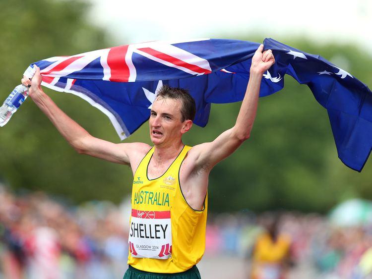 Michael Shelley (athlete) Commonwealth Games 2014 Michael Shelley wins Marathon