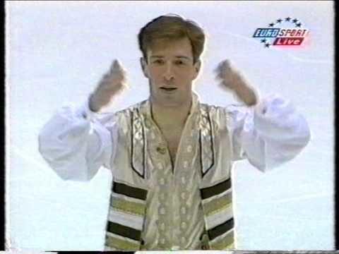 Michael Shmerkin Michael Shmerkin ISR 1998 European Championships SP YouTube