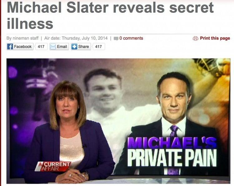 Michael Slater his Secret Spondylitis