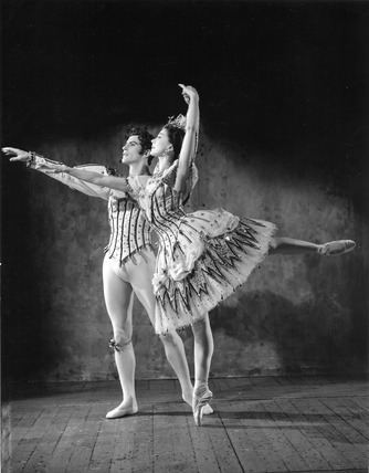 Michael Somes Margot Fonteyn and Michael Somes in Birthday Offering