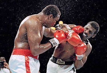 Michael Spinks Larry Holmes vs Michael Spinks 1st meeting BoxRec