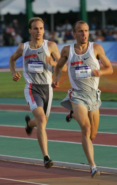 Michael Stember Alan Webb and Michael Stember Photos US Olympic Team
