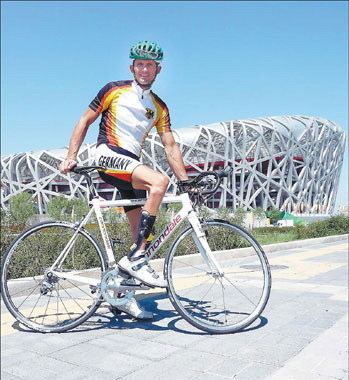 Michael Teuber Cycling legend Michael Teuber aims for more heroics
