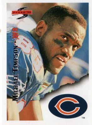 Michael Timpson CHICAGO BEARS Michael Timpson 8 SCORE 95 American Football NFL